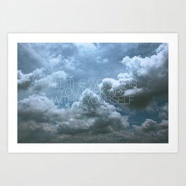 Wonder Cloud Art Print