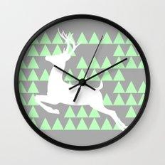 FREEDOM DEER Wall Clock