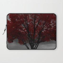 Red Tree, Grey Sky Laptop Sleeve