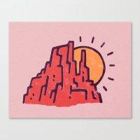 utah Canvas Prints featuring Utah by WEAREYAWN