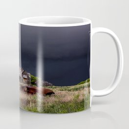 This Old House - Abandoned Home and Cotton Gin in Texas Coffee Mug