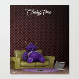 Closing time Canvas Print
