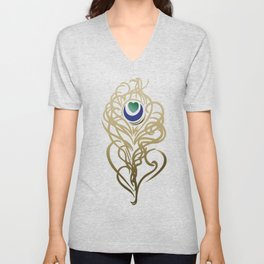 Yoga Blessings Unisex V-Neck