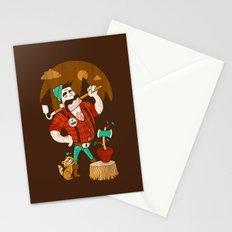 Green Thumberjack Stationery Cards