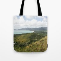 hawaii Tote Bags featuring Hawaii by Kakel-photography