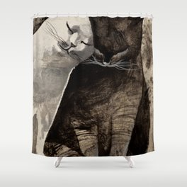 MORNING KISS by Raphaël Vavasseur Shower Curtain
