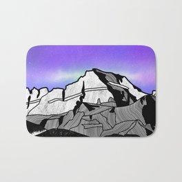 Mount Gould Montana Bath Mat