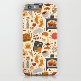 Stay Cozy iPhone Case