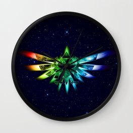 Zelda - Triforce full color Wall Clock