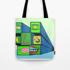 MANY FACE Tote Bag