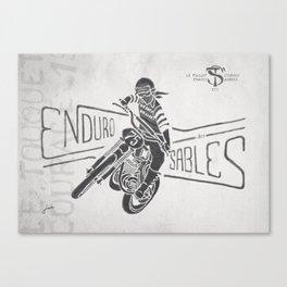 Enduro des Sables Canvas Print