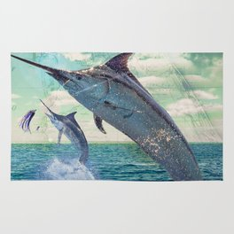 Catch a Marlin if You Can Rug