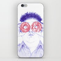 hero iPhone & iPod Skins featuring Hero by Bomburo