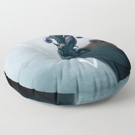 Effervescent in the Pure of Water Floor Pillow