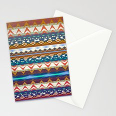 Aztec Geometry Stationery Cards