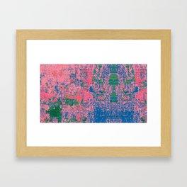 Slow Burn Framed Art Print