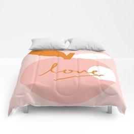 Abstraction_LOVE_BITE Comforters