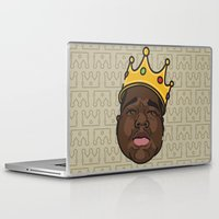 notorious Laptop & iPad Skins featuring Notorious by DollarsandCents