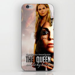 The Queen and the Bid Bad Saviour iPhone Skin
