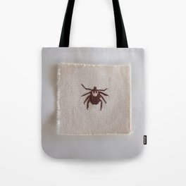 Dog Tick Tote Bag