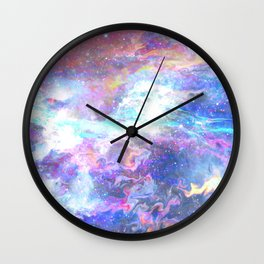 Liquid space Wall Clock
