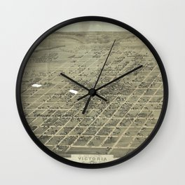 Victoria 1873 Wall Clock