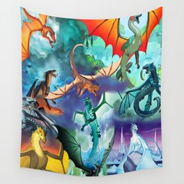 Wings-Of-Fire all dragon Wall Tapestry