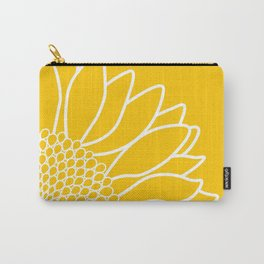 Sunflower Cheerfulness Carry-All Pouch