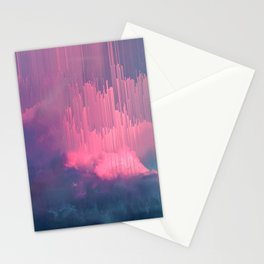 Sweet Stormy Glitches Stationery Cards