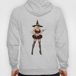 Halloween witch pumpkin sabrina scary graveyard sexy spooky spider broomstick hat holiday bats Hoody