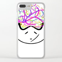 mia did a mistake Clear iPhone Case