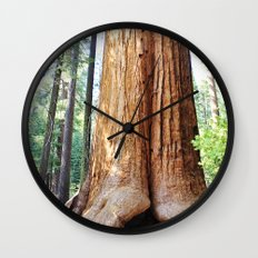 Trail of 100 Giants Wall Clock