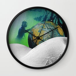 Underwater Planet Wall Clock
