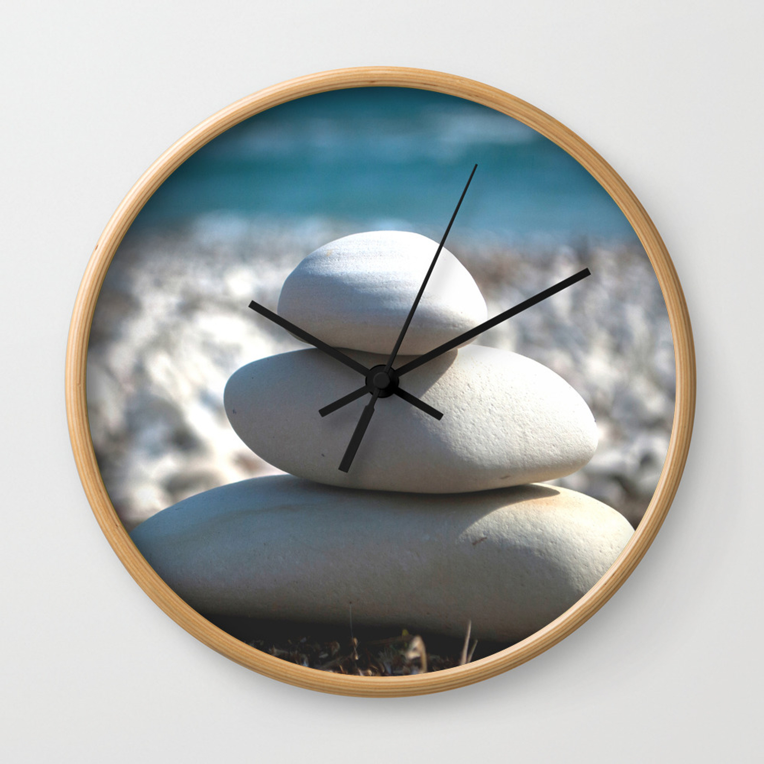 Balance Rocks Zen Wall Clock By Xiariphoto Society6