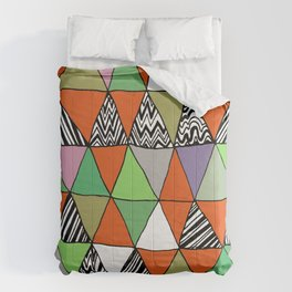 Triangle 2 Comforters