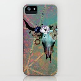 Longhorn Daydreams iPhone Case