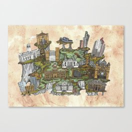 Leeds Uni Life! Canvas Print