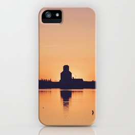 Small Town Sunset iPhone Case