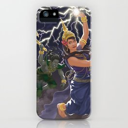 Moni Mekhala and Ream Eyso iPhone Case
