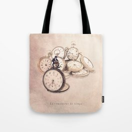 The time rewinder Tote Bag