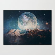 Lake Moon Canvas Print