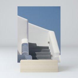 Santorini Steps Mini Art Print