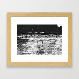 Fear of Perception Framed Art Print