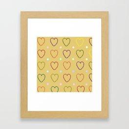Marshmallows Framed Art Print