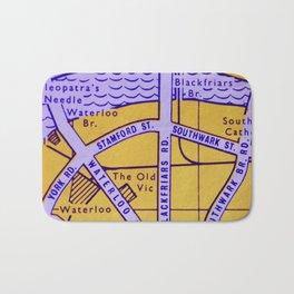 Streets of London Bath Mat