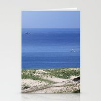 cape cod Stationery Cards featuring Cape Cod by Heidi Ingram