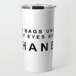 Designer eye bags Travel Mug