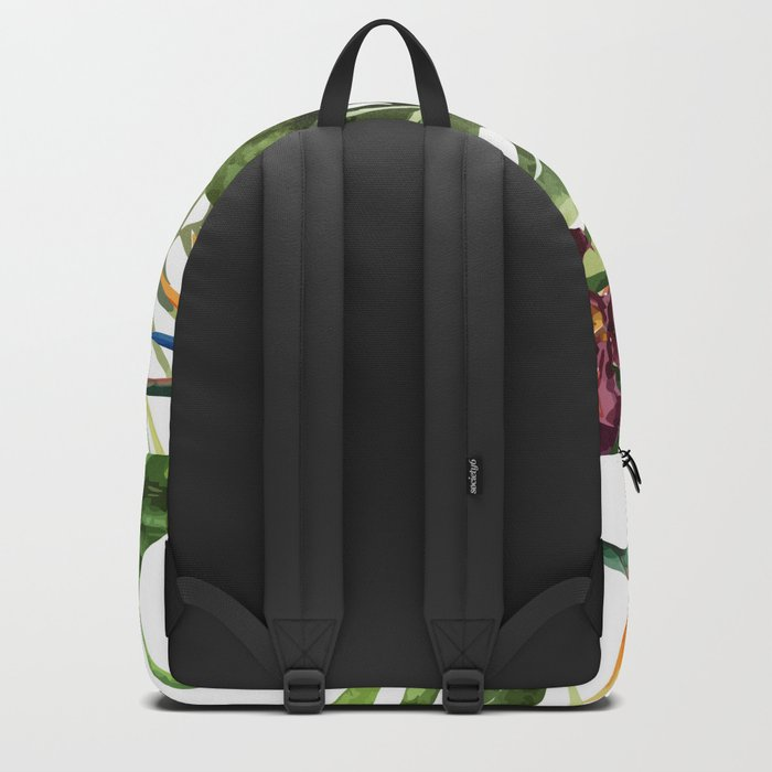 Tropical Floral Pattern 01 Backpack