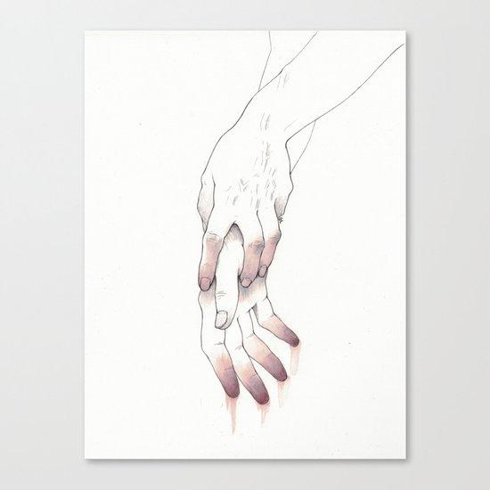 Untitled Hands No. 12 Canvas Print