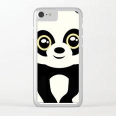 Little Panda Clear iPhone Case